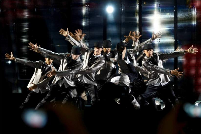 Diversity. El grupo de baile Diversity recordó la otra faceta de Jackson: las innovaciones y pasos que introdujo en el mundo de la danza.