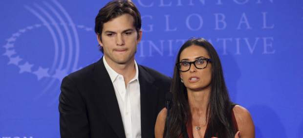 Demi Moore y Ashton Kutcher, solo amigos a pesar de los rumores de reconciliación