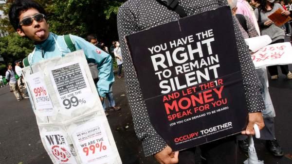 'Indignados' en Tokio