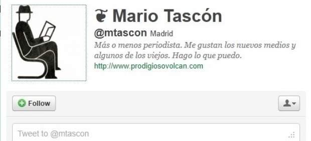 """Mario Tascón, autor de 'Twittergrafía': """"Los políticos están nerviosos en Twitter"""""""