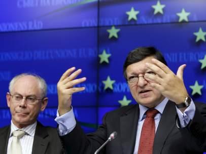 Barroso y Rompuy