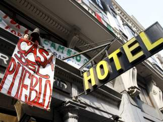 Hotel Madrid 'okupado'