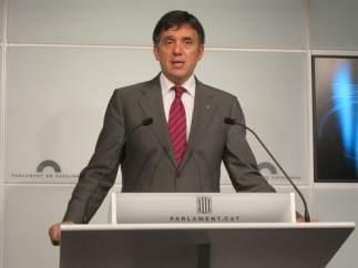 El conseller de Territorio y Sostenibilidad, Lluís Recoder.