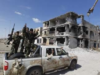Júbilo en Sirte