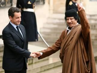 Recibido por Sarkozy