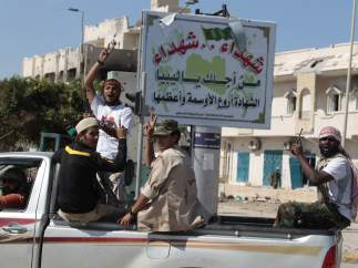 Alegría en Sirte