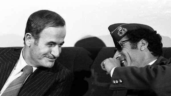 Assad y Gadafi