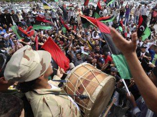 Celebración en Trípoli