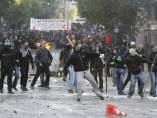 Enfrentamientos en Grecia