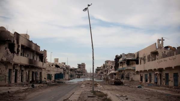 Sirte, sin Gadafi