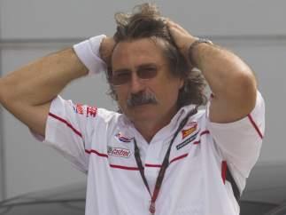 Paolo Simoncelli, padre de Marco