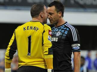 Terry y Paddy Kenny en el Chelsea - QPR
