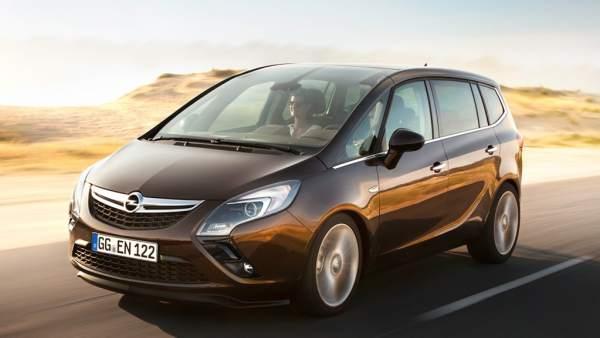 Nuevo modelo Opel Zafira Tourer