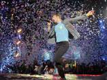 El cantante de Coldplay, Chris Martin