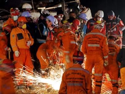 Rescate de supervivientes en Turquía