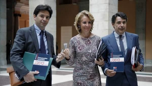 Aguirre presenta los presupuestos para 2012