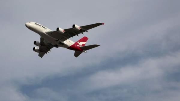 Qantas en huelga
