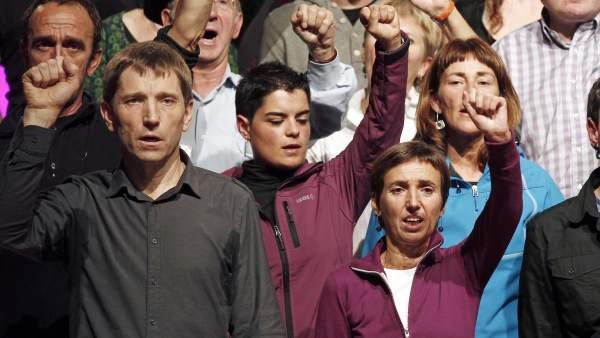 Dirigentes de la izquierda abertzale