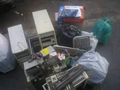 La basura electrónica es el residuo que más crece en España