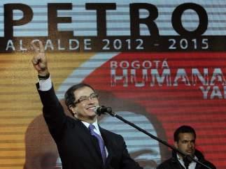 Gustavo Petro, alcalde electo de Bogotá