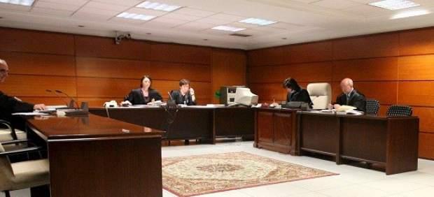 Interior de un juzgado