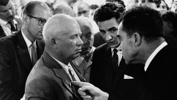 'Nikita Khrushchev y Richard Nixon', Moscú, 1959