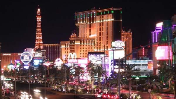 Imagen panorámica de Las Vegas