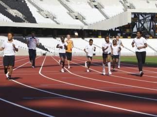 Pista del Estadio Olímpico 2012