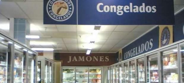 Congelados, en un supermercado