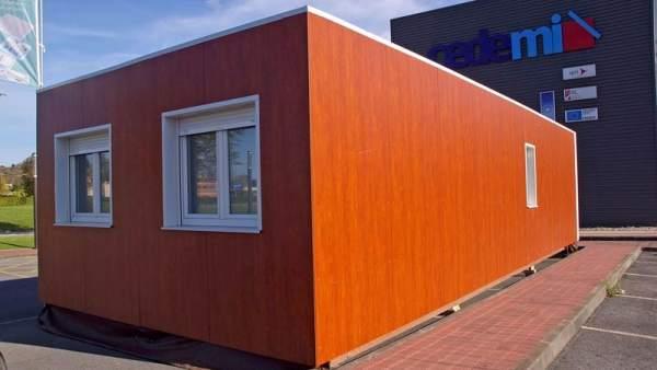 Viviendas biosostenibles usando contenedores mar timos - Casas de panel sandwich de segunda mano ...