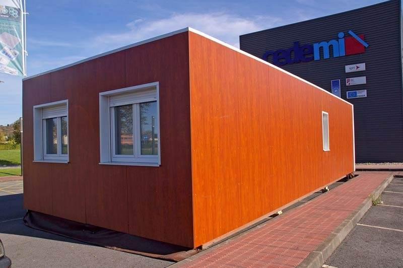 Viviendas biosostenibles usando contenedores mar timos - Casas hechas con contenedores precios ...
