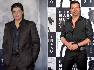 Benicio del Toro y Ricky Martin