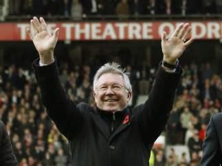 Homenaje a Alex Ferguson