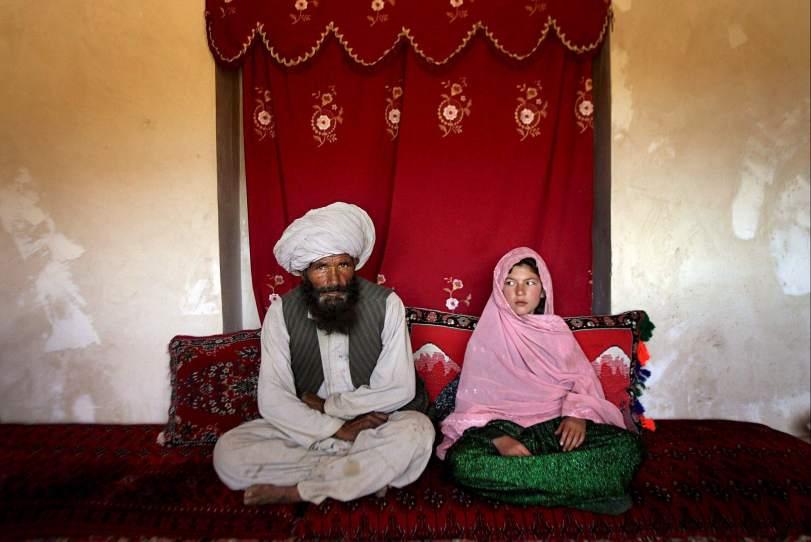Una boda musulmana entre un hombre de 40 años y una niña de 11, en una imagen de archivo. (ARCHIVO)