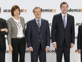 Rajoy, con la organización