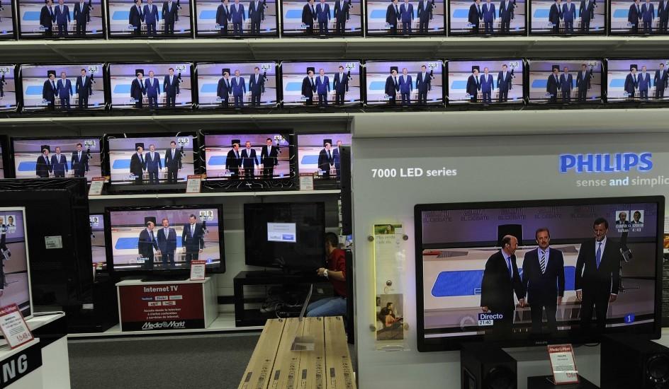 Televisiones con el debate