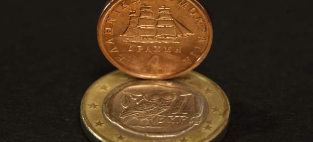 Dracma y euro