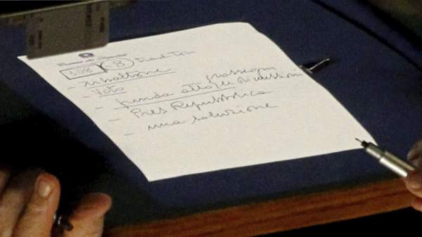 Notas de Berlusconi