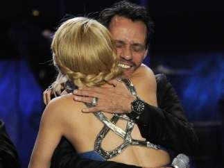 Shakira y Marc Anthony