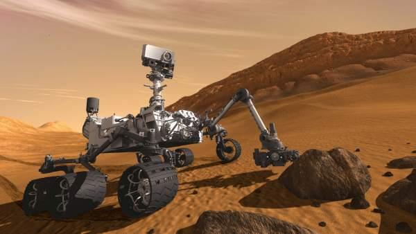 El robot Curiosity