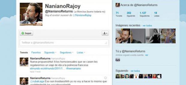 Los usuarios de Twitter se lanzan a crear nuevas cuentas a la manera de @nanianorajoy