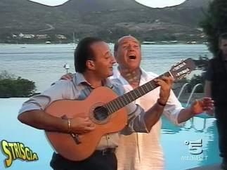 Cantando junto a Mariano Apicella