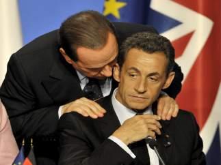 Berlusconi y Sarkozy