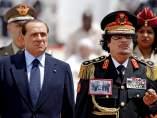 Berlusconi y Gadafi