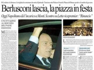 Portada de 'La Repubblica'