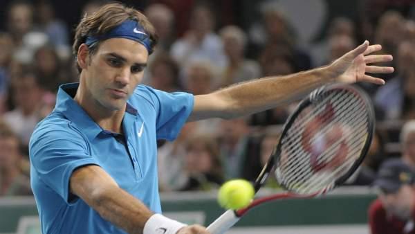 Roger Federer, en París