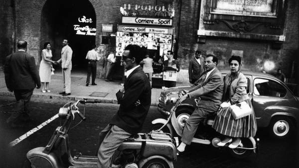 'Piazzale Flaminio', Rome, 1956