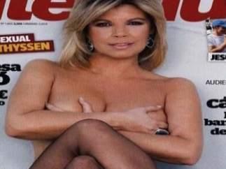 Terelu Campos posa en 'Interviú'