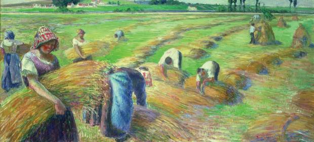 'The Harvest', 1882
