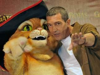 Antonio Banderas- El gato con botas